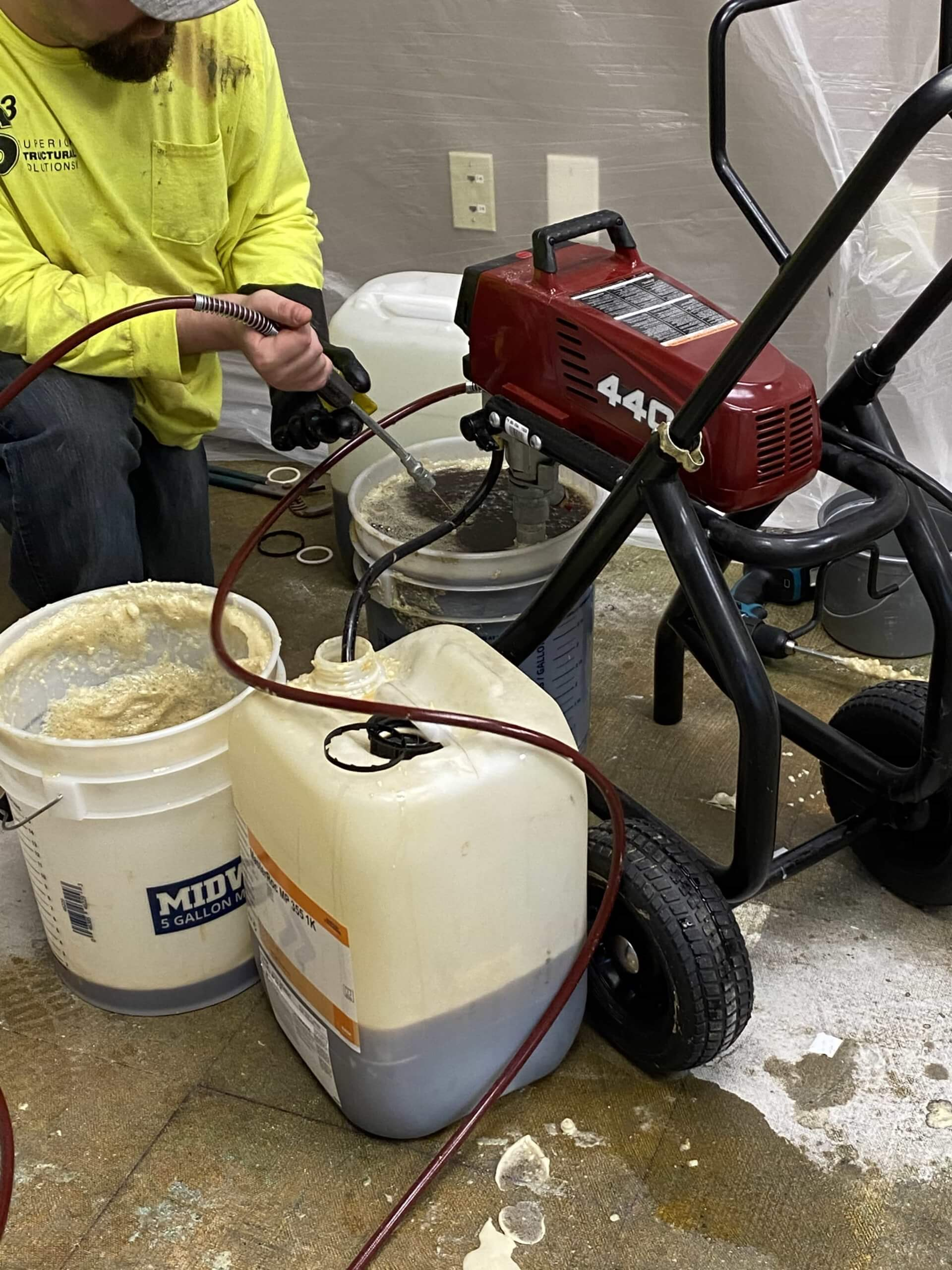 The Key to Urethane Grouting