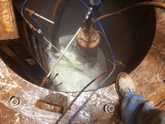 CASE STUDY: HOW TO STOP ~ 125 GPM of GUSHING WATER