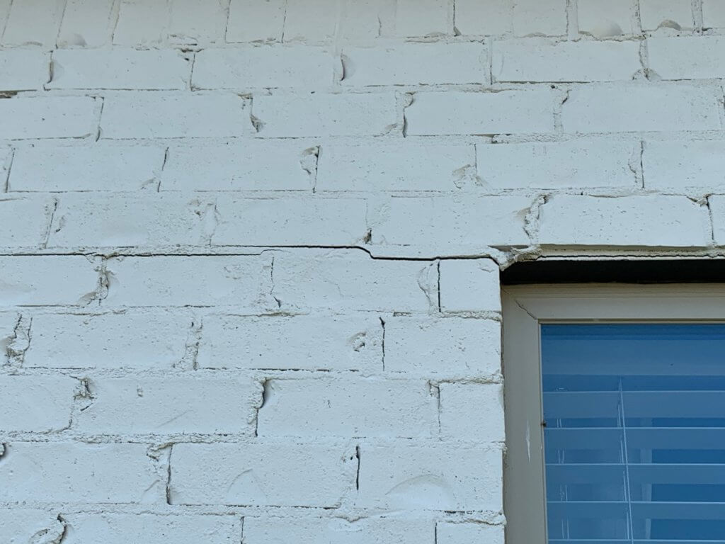 Cracks can be a big indication you need foundation repair.