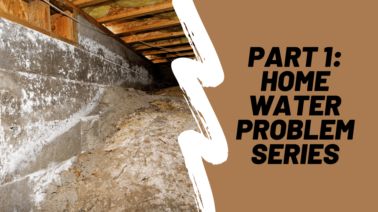 Water in Your Home or Crawlspace?